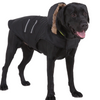 Sparky & Co Black Winter Parka With Faux Fur-Lined Hood Small - Paw Naturals