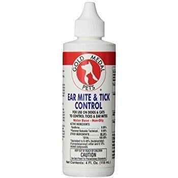 Remedy + Recovery Ear Mite And Tick Control For Pets, 4-Ounce