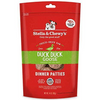Stella & Chewy's Duck Duck Goose Dinner Patties Raw Freeze-Dried Dog Food - Paw Naturals