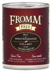 Fromm Grain Free Beef & Sweet Potato Canned Dog Food 12.2 Oz - Paw Naturals