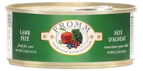 Fromm Lamb Pate 5oz Canned Cat Food