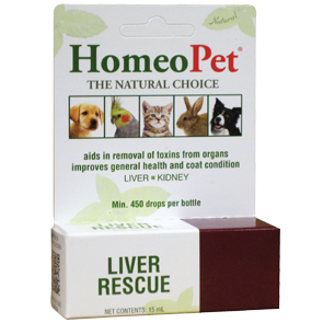 HomeoPet Liver Rescue Herbal Remedy for Dogs & Cats 15ml - Paw Naturals