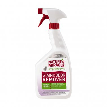 Nature's Miracle Stain & Odor Remover Spray Lavender 32oz - Paw Naturals