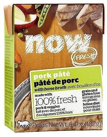 Now! Fresh Grainfree Cat Pork Pat 6.4 Oz