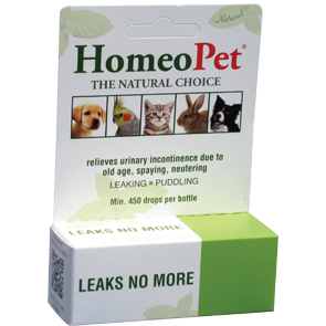 HomeoPet Leaks No More Herbal Remedy for Dogs & Cats 15ml - Paw Naturals