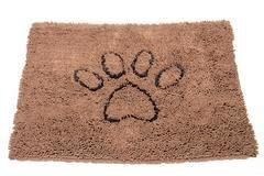 Dog Gone Smart Dirty Dog Doormat Brown Medium - Paw Naturals