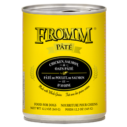 Fromm Chicken, Salmon, & Oats Pate Canned Dog Food - Paw Naturals