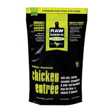 Raw Bistro Frozen Chicken Entree For Dogs - Paw Naturals
