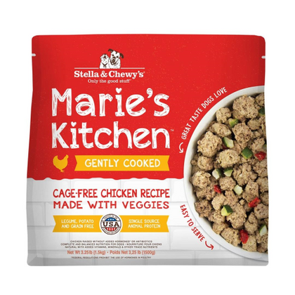Stella & Chewy's Marie's Kitchen Gently-Cooked Frozen Dog Food - Paw Naturals
