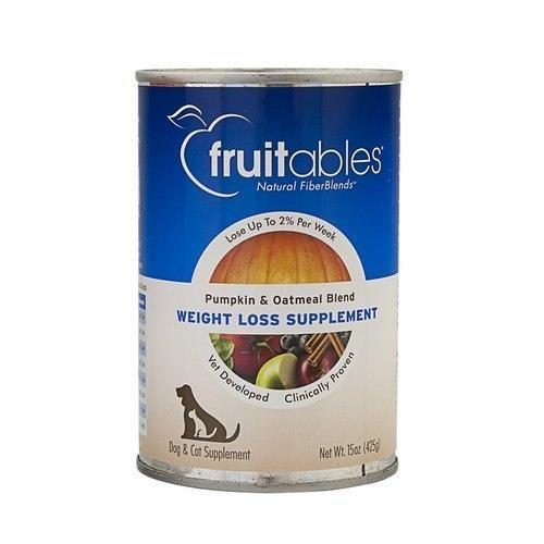 Fruitables Supplement Pumpkin And Oatmeal Weight Loss 15oz Canned Dog Food