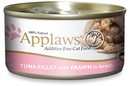 Applaws Tuna Fillet With Prawns 2.47oz Cat Can
