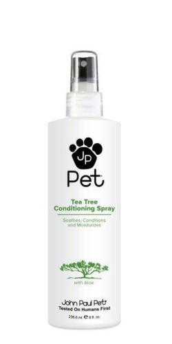 John Paul Pet Tea Tree Conditioning Spray 8oz - Paw Naturals