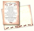 Dog Speak Dog Lessons For People Card (Blank Inside) - Paw Naturals