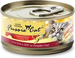Fussie Cat Chicken With Beef And Pumpkin 2.82oz Canned Cat Food