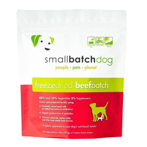 Smallbatch Pets Small Bites Raw Frozen Dog Food 4lb