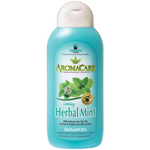 Professional Pet Products AromaCare Cooling Herbal Mint Shampoo 13.5oz - Paw Naturals