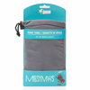 Messy Mutts Microfiber Travel Towel In Cool Grey