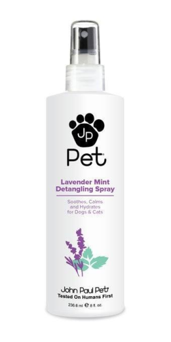 John Paul Pet Lavender Mint Detangling Spray 8oz - Paw Naturals