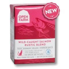 Open Farm Rustic Blend Wild Caught Salmon Canned Cat Food 5.5oz