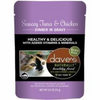 Dave's Naturally Healthy Cat Food Pouch – Saucey Tuna & Chicken Dinner in Gravy - Paw Naturals