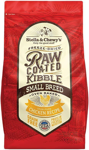 Stella & Chewy's Raw Coated Small Breed Chicken 3.5lb Dry Dog Food