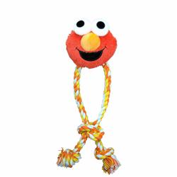 Pet Krewe Sesame Street Elmo Rope Dog Toy