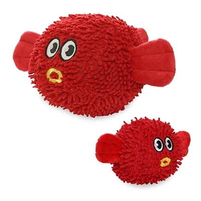 Mighty Microfiber Ball Blowfish Dog Toy