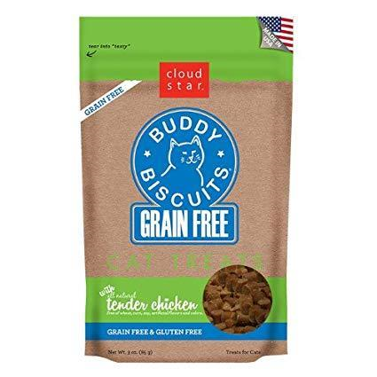 Cloud Star Buddy Biscuit Grain-Free Cat Treats