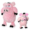 Mighty Angry Animal Series Pig Dog Toy - Paw Naturals