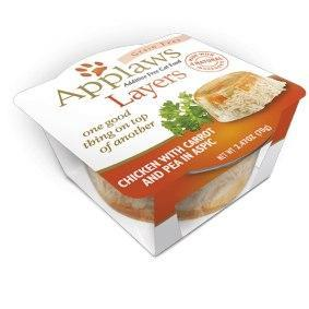 Applaws Layers Chicken Carrot 2.47oz Cat Can