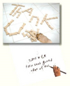 Dog Speak Thank U Letterpet Sitter Card - Paw Naturals