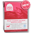Open Farm Rustic Stew Wild Caught Salmon Canned Dog Food 12.5oz