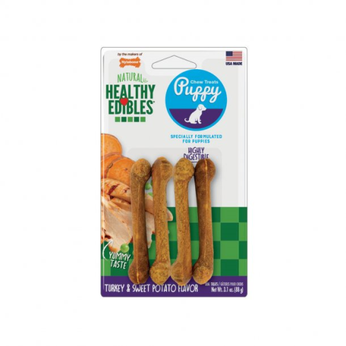Nylabone Puppy Healthy Edibles Chew Treats