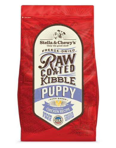 Stella & Chewy's Raw Coated Puppy Chicken Dry Dog Food - Paw Naturals