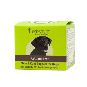 Herbsmith Glimmer Soft Chewsskin/Coat (Small) 30ct - Paw Naturals