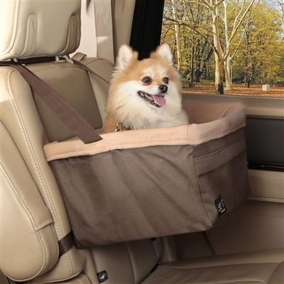 Petsafe Brown Happy Ride Booster Seat Travel Car Accessory - Paw Naturals