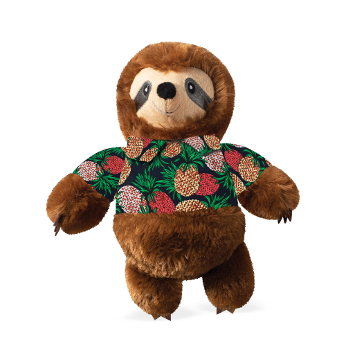 Pet Shop By Fringe Studio Vacay Vibes Sloth Plush Dog Toy