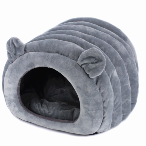 Sparky & Co Cozy Cave Bed in Grey