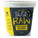 Tiki Pet Raw Frozen Duck, Turkey Bone Broth and Pumpkin Cat Food