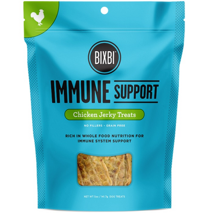 Bixbi Jerky Immune Support Chicken 5oz Dog Treat