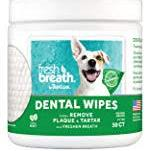 Tropiclean Fresh Breath Dental Wipes 50ct