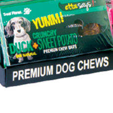 Etta Says Crunch Bars Duck Dog Treat - Paw Naturals