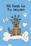 Dog Speak All Dogs Go To Heaven Card - Paw Naturals