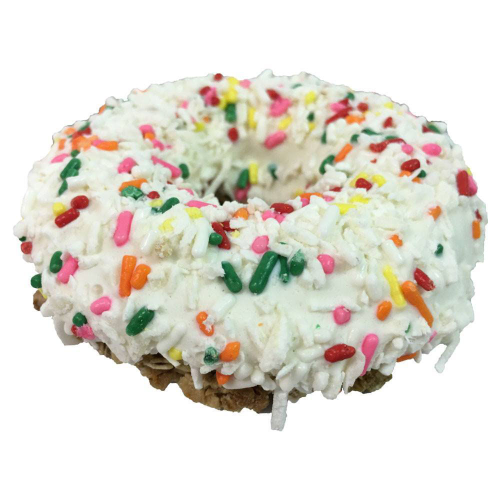 K9 Granola Factory Birthday Cake Gourmet Doughnut Dog Treat