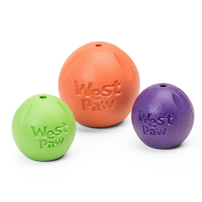 West Paw Design Zogoflex Echo Rando Ball Dog Toy - Paw Naturals
