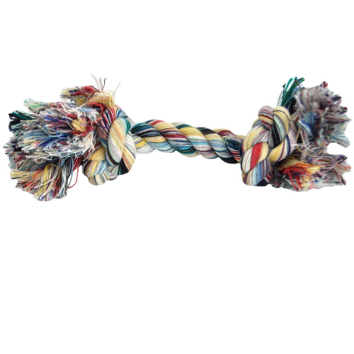Mammoth Multicolor Rope Bone