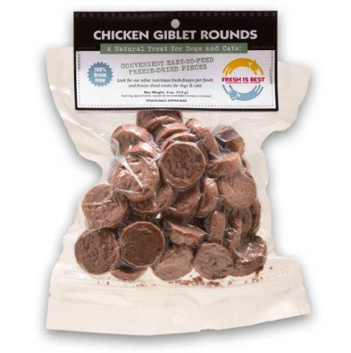 Fresh Is Best Freeze Dried Chicken Giblets 4oz