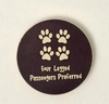 Dog Speak Four Legged Passengers Preferred Car Coaster - Paw Naturals
