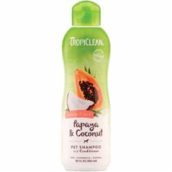 Tropiclean Papaya Plus Shampoo & Conditioner - Paw Naturals