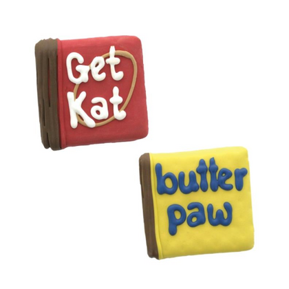 Bosco & Roxy's Just for Licks Butter Paw & Get Kat Bakery Treat - Paw Naturals